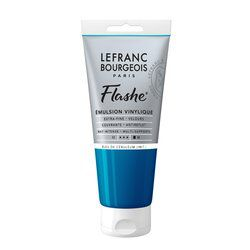 LB FLASHE ACRYLIQUE 80ML TUBE BLEU DE CÉRULÉUM (IMIT.)