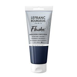 LB FLASHE ACRYLIQUE 80ML TUBE BLEU DE PRUSSE (IMIT.)