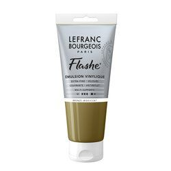 LB FLASHE ACRYLIQUE 80ML TUBE BRONZE IRIDESCENT
