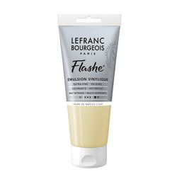 LB FLASHE ACRYLIQUE 80ML TUBE JAUNE DE NAPLES CLAIR