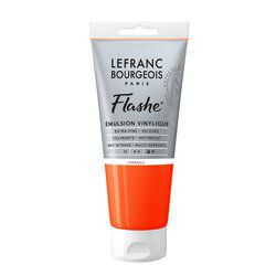 LB FLASHE ACRYLIQUE 80ML TUBE ORANGE