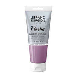LB FLASHE ACRYLIQUE 80ML TUBE ROSE DE PARME IRIDESCENT