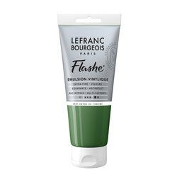LB FLASHE ACRYLIQUE 80ML TUBE VERT OXYDE DE CHROME
