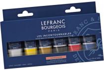 LEFRANC BOURGEOIS ACRYLIQUE FINE SET LES INCONTOURNABLES 6 X 20ML