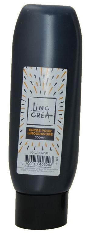 LINOCREA - ENCRE TUBE 300ML NOIR