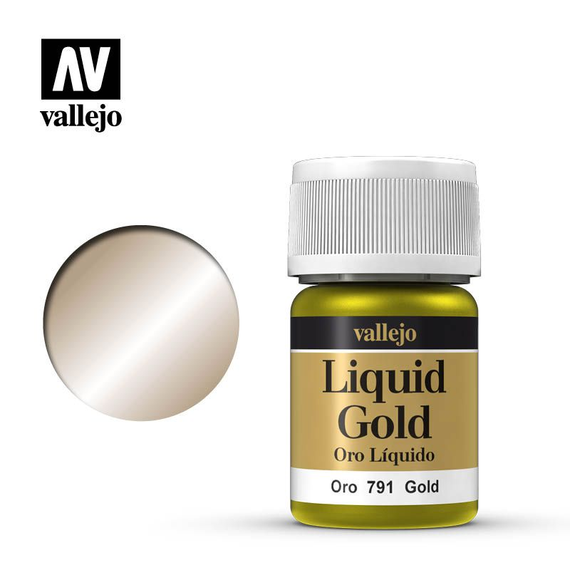 LIQUID GOLD 791 GOLD 35ML (ALCOHOL BASED)