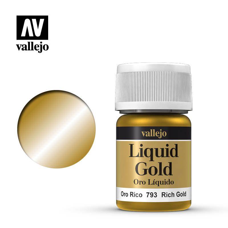 LIQUID GOLD 793 RICH GOLD 35ML (ALCOHOL BASED)