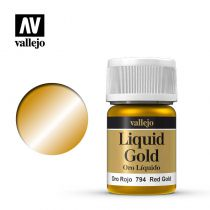 LIQUID GOLD 794 RED GOLD 35ML (ALCOHOL BASED)