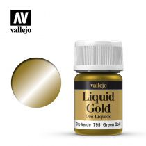 LIQUID GOLD 795 GREEN GOLD 35ML (ALCOHOL BASED)
