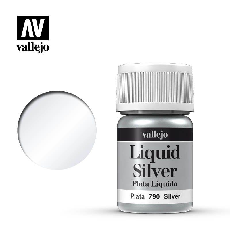 LIQUID SILVER 790 SILVER 35ML (ALCOHOL BASED)