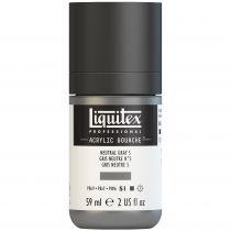 LIQUITEX ACRYLIC GOUACHE 59ML GRIS NEUTRE 5 S1