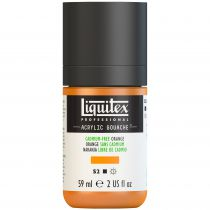 LIQUITEX ACRYLIC GOUACHE 59ML ORANGE SANS CADMIUM S2