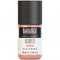 LIQUITEX ACRYLIC GOUACHE 59ML ROSE PORTRAIT CLAIR S1