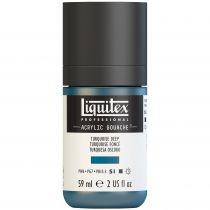 LIQUITEX ACRYLIC GOUACHE 59ML TURQUOISE FONCE S1