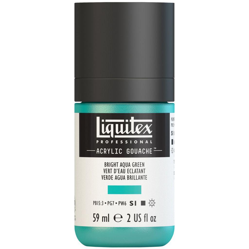LIQUITEX ACRYLIC GOUACHE 59ML VERT EAU ECLATANT S1