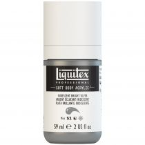 LIQUITEX SOFT BODY ACRYLIC 59ML ARGENT IRIDESCENT