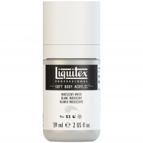 LIQUITEX SOFT BODY ACRYLIC 59ML BLANC IRIDESCENT