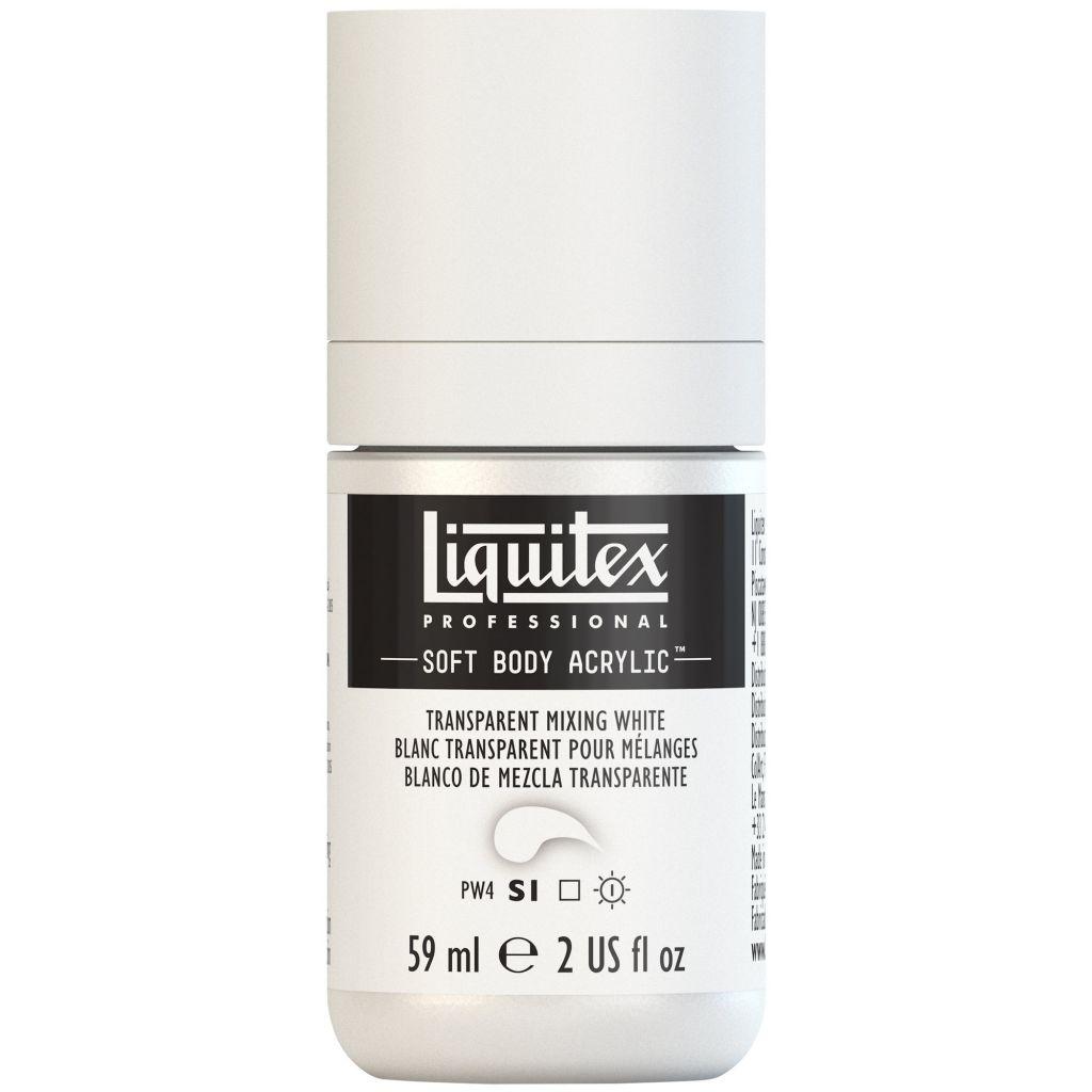 LIQUITEX SOFT BODY ACRYLIC 59ML BLANC POUR MELANGE