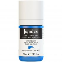LIQUITEX SOFT BODY ACRYLIC 59ML BLEU CERULEUM IMITATION