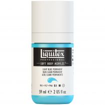 LIQUITEX SOFT BODY ACRYLIC 59ML BLEU CLAIR PERMANENT
