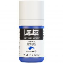 LIQUITEX SOFT BODY ACRYLIC 59ML BLEU COBALT