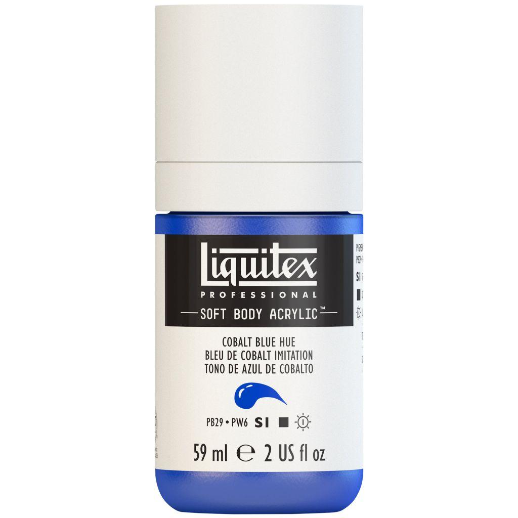 LIQUITEX SOFT BODY ACRYLIC 59ML BLEU DE COBALT IMITATION
