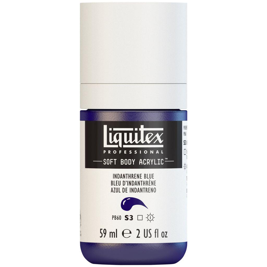 LIQUITEX SOFT BODY ACRYLIC 59ML BLEU INDANTHRÈNE