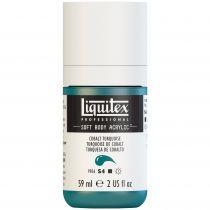 LIQUITEX SOFT BODY ACRYLIC 59ML COBALT TURQUOISE