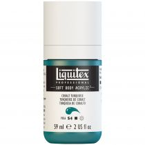 LIQUITEX SOFT BODY ACRYLIC 59ML COBALT TURQUOISE