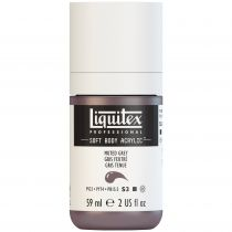 LIQUITEX SOFT BODY ACRYLIC 59ML GRIS FEUTRÉ S3