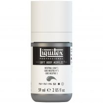 LIQUITEX SOFT BODY ACRYLIC 59ML GRIS NEUTRE