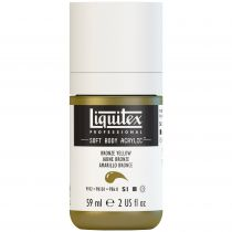 LIQUITEX SOFT BODY ACRYLIC 59ML JAUNE BRONZE