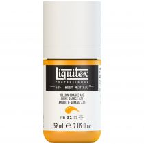 LIQUITEX SOFT BODY ACRYLIC 59ML JAUNE D\'OR