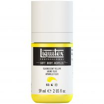 LIQUITEX SOFT BODY ACRYLIC 59ML JAUNE FLUORESCENT S2