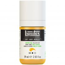 LIQUITEX SOFT BODY ACRYLIC 59ML JAUNE FONCE SANS CADMIUM S3