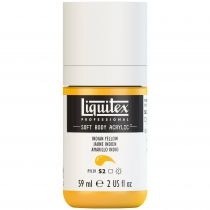 LIQUITEX SOFT BODY ACRYLIC 59ML JAUNE INDIEN
