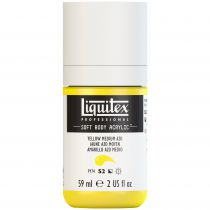 LIQUITEX SOFT BODY ACRYLIC 59ML JAUNE MOYEN