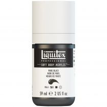 LIQUITEX SOFT BODY ACRYLIC 59ML NOIR DE MARS
