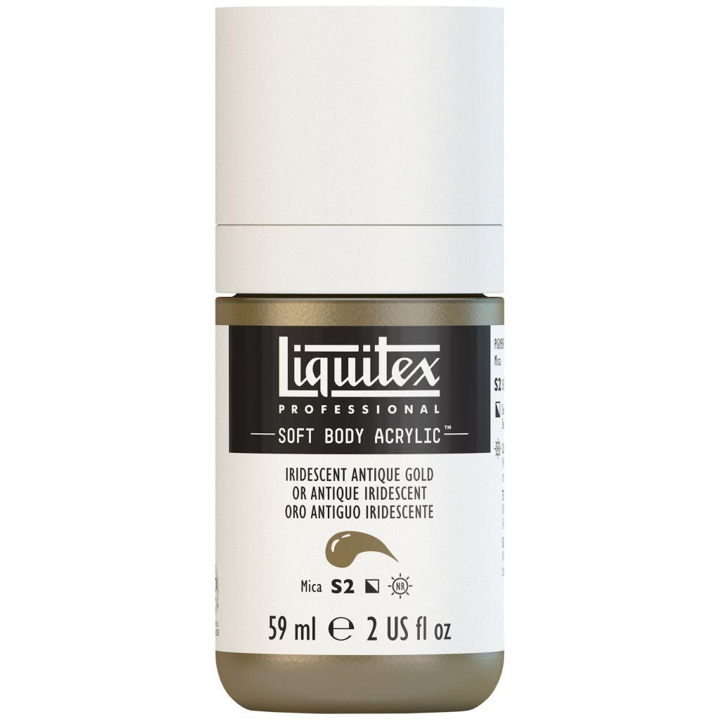LIQUITEX SOFT BODY ACRYLIC 59ML OR ANTIQUE