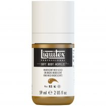 LIQUITEX SOFT BODY ACRYLIC 59ML OR RICHE IRIDESCENT