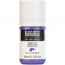 LIQUITEX SOFT BODY ACRYLIC 59ML POURPRE BRILLANT