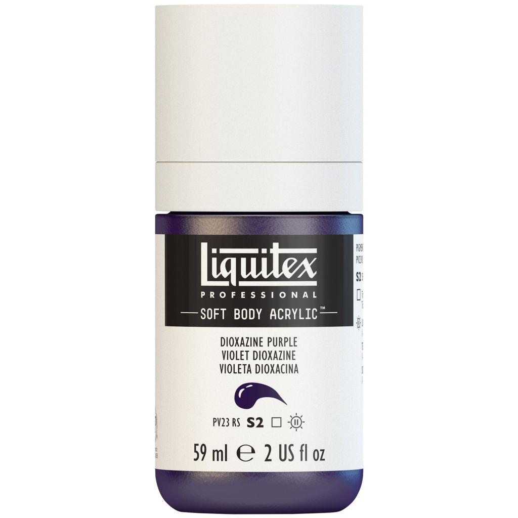 LIQUITEX SOFT BODY ACRYLIC 59ML POURPRE