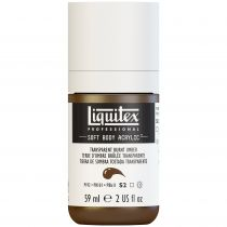 LIQUITEX SOFT BODY ACRYLIC 59ML TERRE D\'OMBRE BRULEE TRANSPARENTE