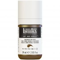 LIQUITEX SOFT BODY ACRYLIC 59ML TERRE D\'OMBRE NATURELLE TRANSPARENTE