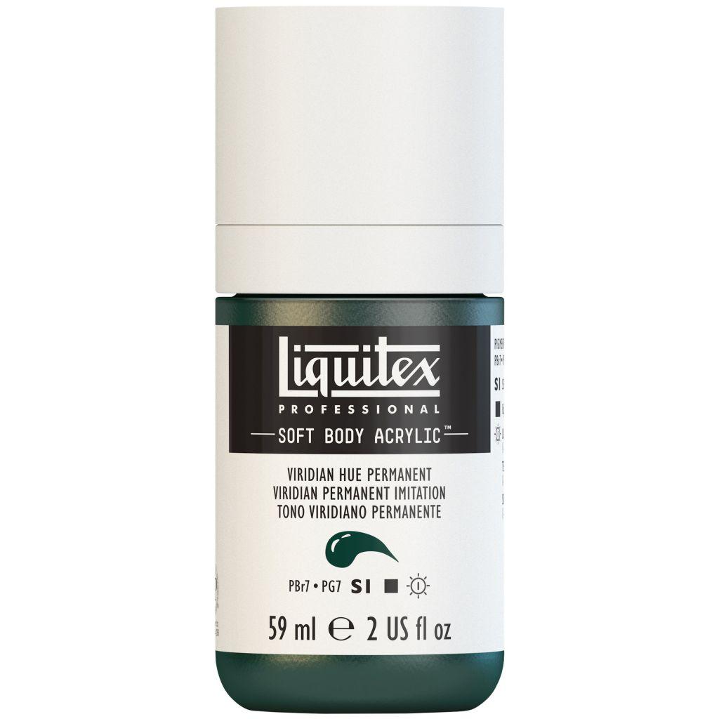 LIQUITEX SOFT BODY ACRYLIC 59ML VERT EMERAUDE IMITATION