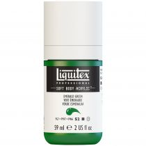 LIQUITEX SOFT BODY ACRYLIC 59ML VERT EMERAUDE