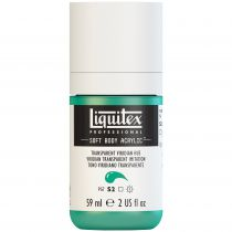 LIQUITEX SOFT BODY ACRYLIC 59ML VERT EMERAUDE TRANSPARENT IMITATION