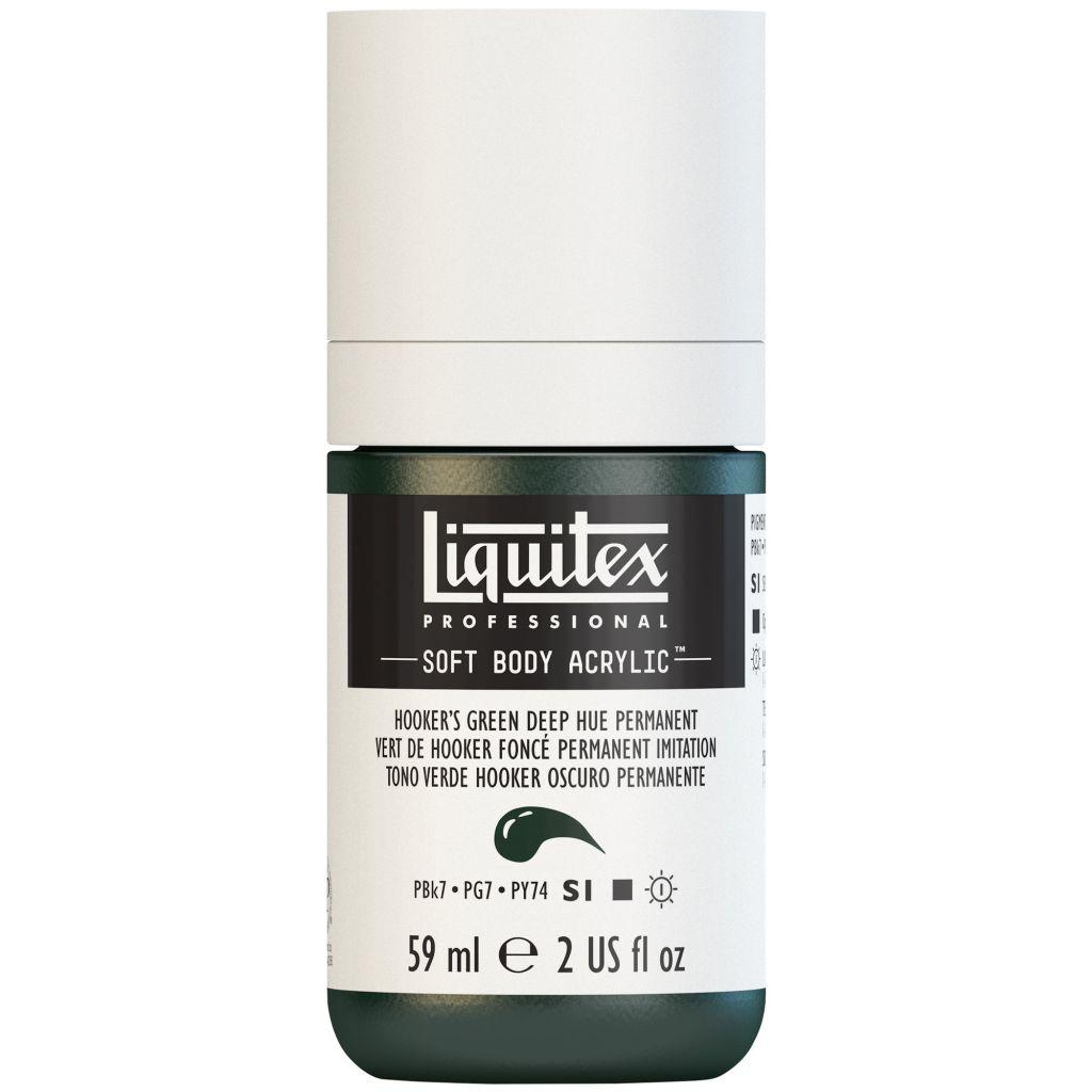 LIQUITEX SOFT BODY ACRYLIC 59ML VERT HOOKER FONCE