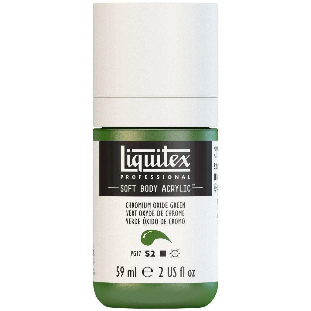LIQUITEX SOFT BODY ACRYLIC 59ML VERT OXYDE CHROME