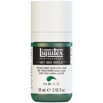 LIQUITEX SOFT BODY ACRYLIC 59ML VERT PHTALOCIANINE (NUANCE JAUNE) S1